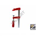 Serre-joint à vis simple saillie 60 mm capacité 200 mm