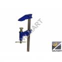Serre joint à pompe standard saillie 80 mm capacité 30 cm
