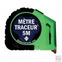 Mètre traceur 5m25 + 10 mines blanches Edition Whiteline