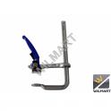 Serre-joint forgé à serrage rapide 300 mm et levier droit