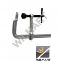 Serre-joint forgé à rotule interchageable 300 mm pour travaux lourds
