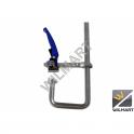 Serre-joint forgé à serrage rapide 300 mm avec col de cygne