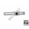 Jauge parallèle de traçage 200 mm - acier chromé