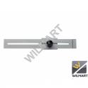 Jauge parallèle de traçage 250 mm - acier chromé
