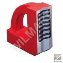 """""""Equerre magnétique en """"""""V"""""""" 150 x 150 mm pour tube"""""""