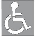 Pochoir handicap 2 parties