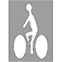 pochoir cycliste 1200